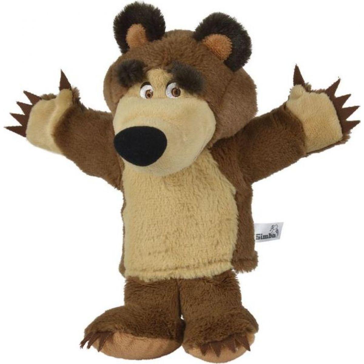Simba Máša a Medveď maňuška medveď Mišo