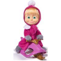 S-Simba Toys MandB Bábika Máša a snežný skúter 2
