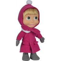 Simba Máša 23 cm v zimnom kabátiku
