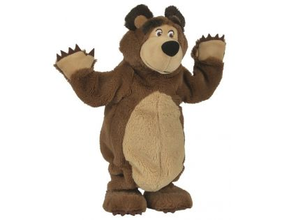 Bambilon Máša a medvěd Plyšový tančící medvěd 35 cm