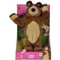 Bambilon Máša a medvěd Plyšový tančící medvěd 35 cm 2