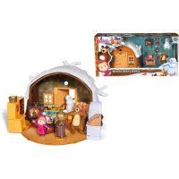 Simba Máša a medveď Zimný dom medveďa