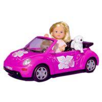 Simba Evička s autom New Beetle
