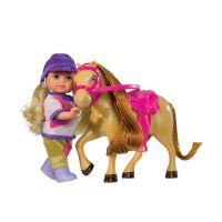 Simba Bábika Evička s poníkom Žokejka