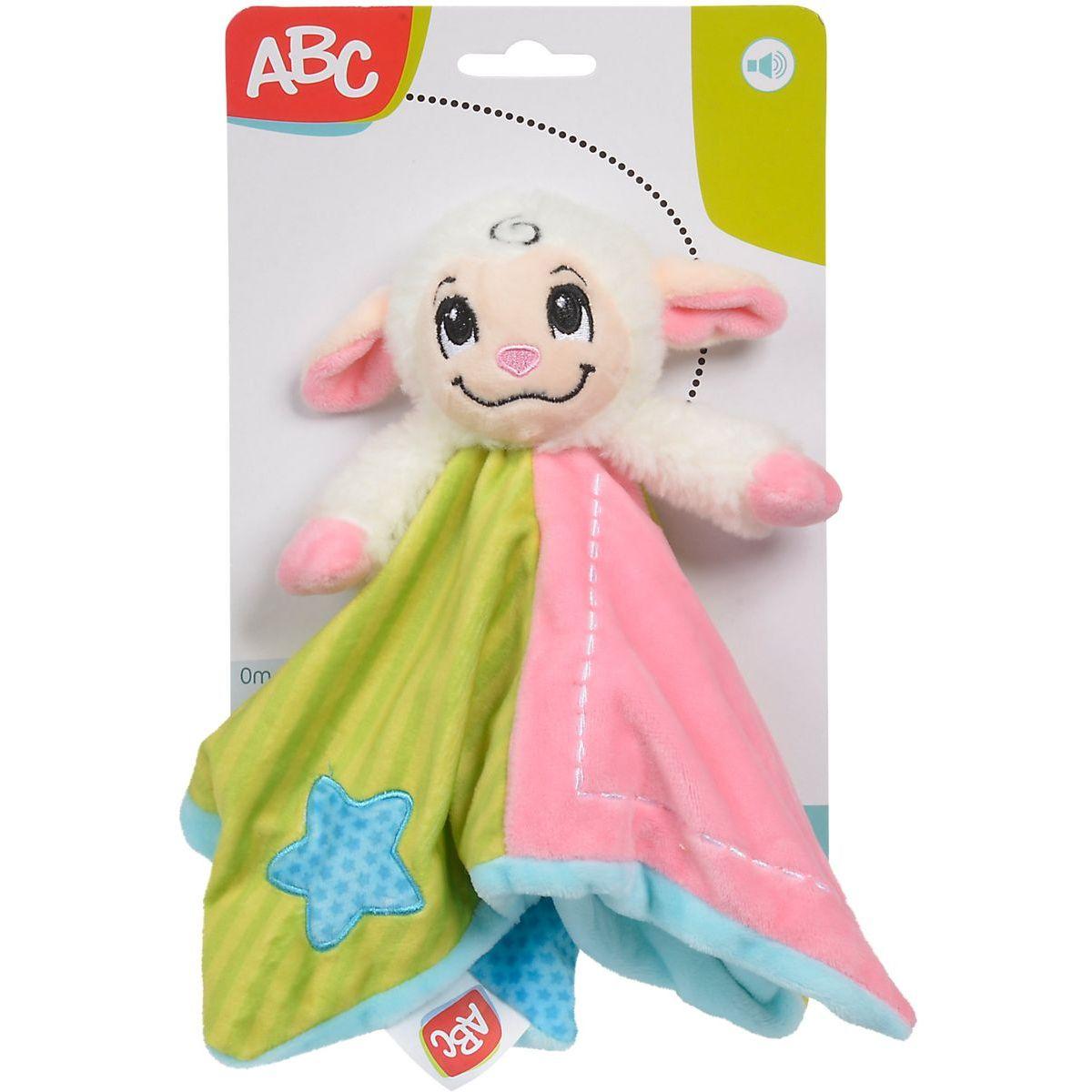 Simba Plyšový zaspávačik zvieratko 24 cm ružový