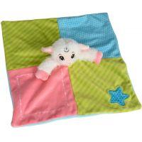Simba Plyšový zaspávačik zvieratko 24 cm ružový 2