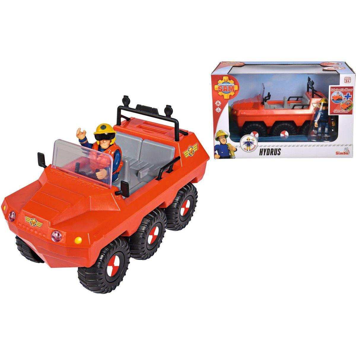 Simba Požiarnik Sam Auto Hydrus s figúrkou