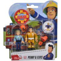 Simba Požiarnik Sam Figúrky 2 ks Penny a Elvis