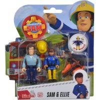 Simba Požárník Sam Figurky 2 ks s přísl. Sam a Ellie