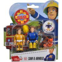 Simba Požiarnik Sam Figúrky 2 ks s prísl. Sam a Arnold