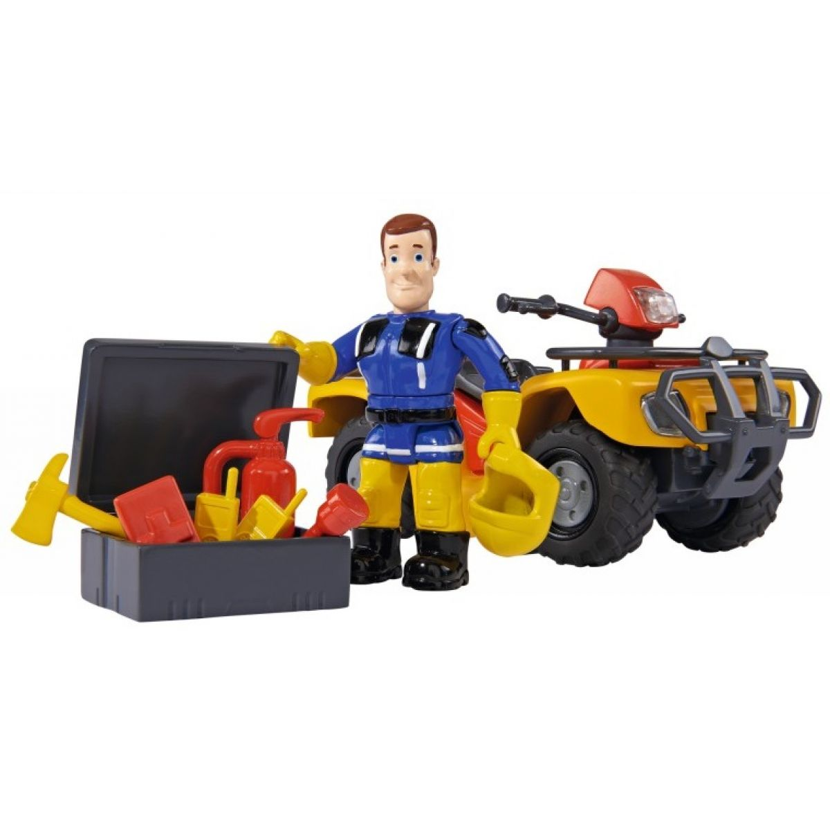 Simba Požiarnik Sam Mercury štvorkolka