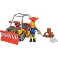 Simba Požiarnik Sam Mercury zimná štvorkolka s figúrkou
