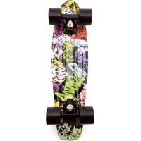 Skateboard pennyboard 60 cm farebný vzor 3
