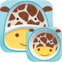 Skip Hop Zoo Jídelní set Žirafa