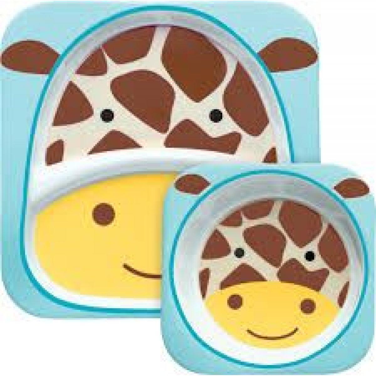 Skip Hop Zoo Jedálenský set Žirafa