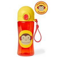 Skip Hop Zoo Fľaša športová s uzáverom Opička