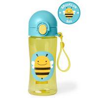 Skip Hop Zoo Fľaša športová s uzáverom Včielka