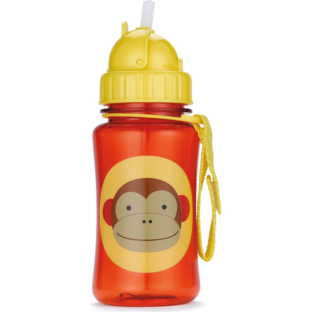 Skip Hop Zoo Fľaša so slamkou Opička
