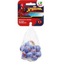 Sklenené guličky Spiderman