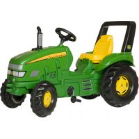Rolly Toys 035632 - Šliapací traktor X-Trac John Deere - zelený