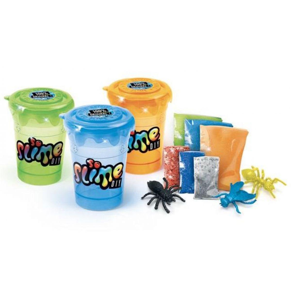 Slime sliz 3 pack pre chlapcov oranžový, modrý, zelený