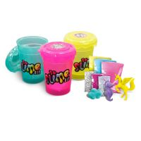 Slime sliz 3pack pre dievčatá ružový, žltý, zelený