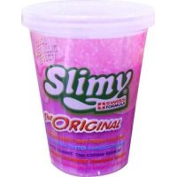 Slimy sliz metalic kelímek 80g fialový