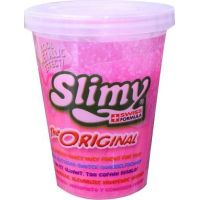 Slimy sliz metalic kelímek 80g růžový