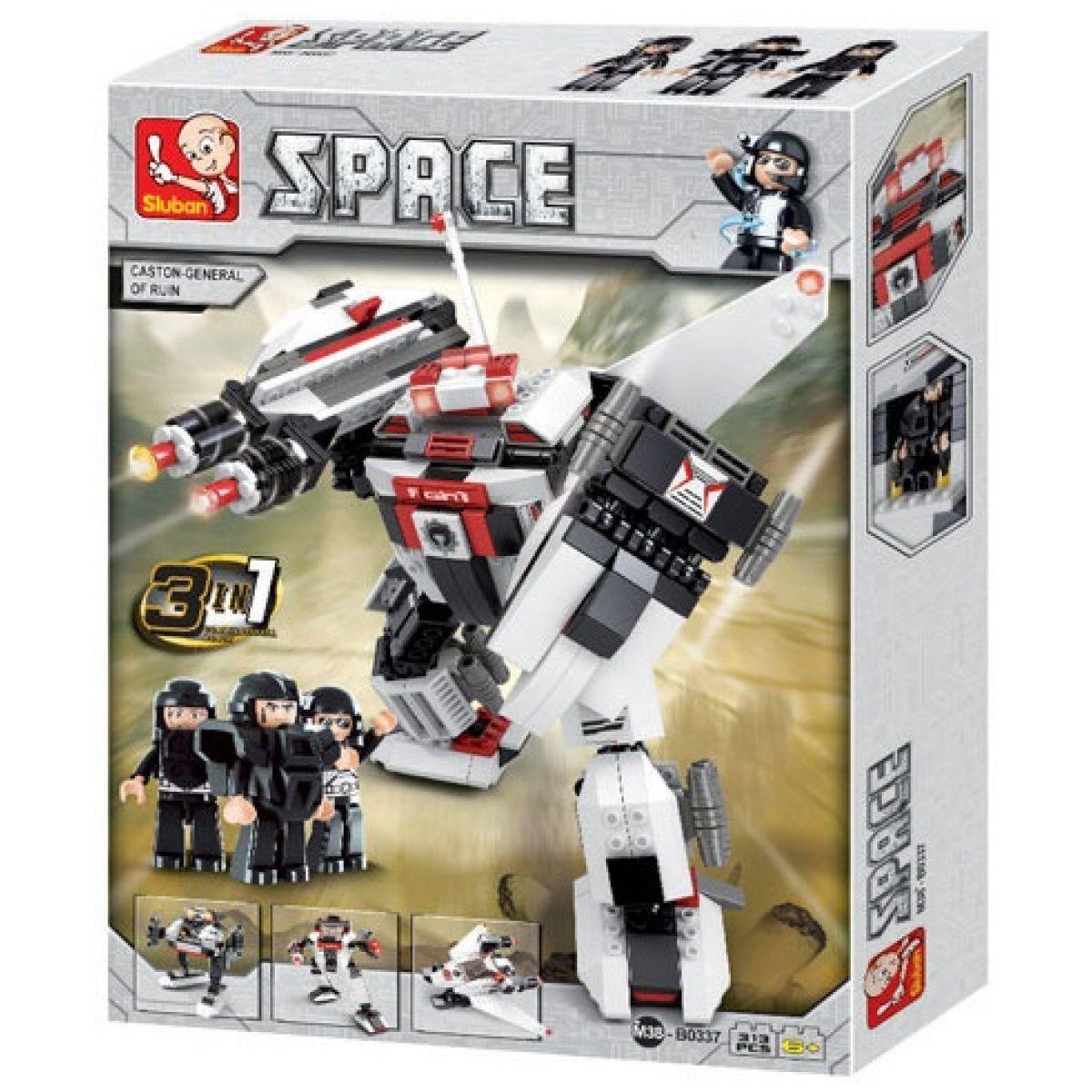 Sluban 3v1 Vesmírný robot