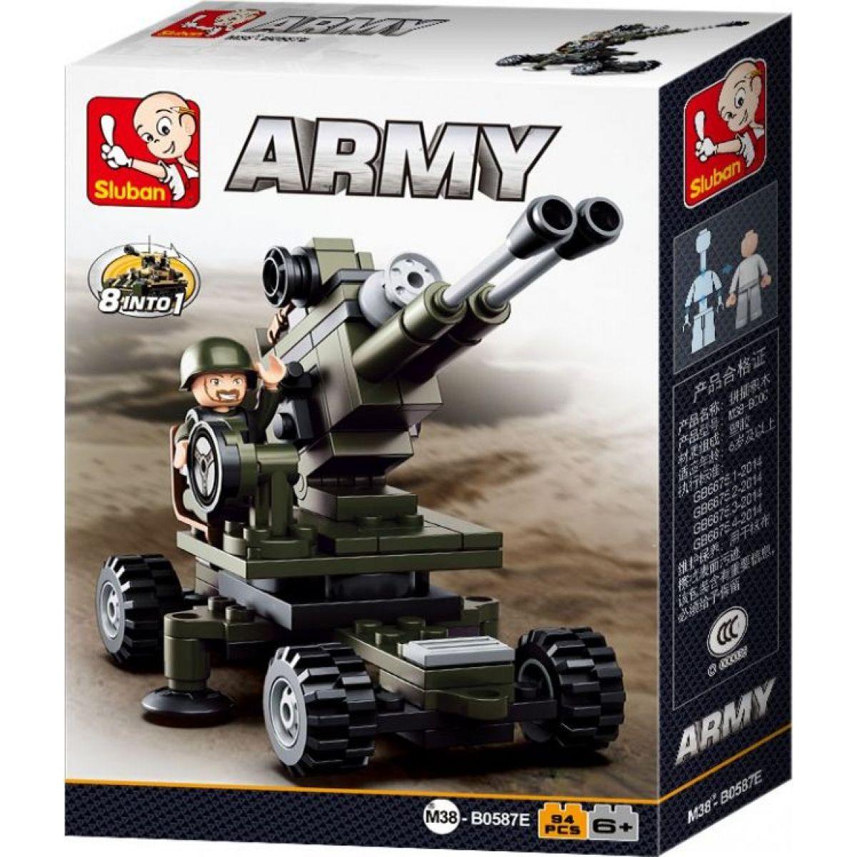 SLUBAN B0587E ARMY DĚLOSTŘELEC