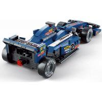 Sluban B0353 Formule F1 Racing Car Modrá 257 dílků 4