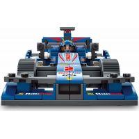 Sluban B0353 Formule F1 Racing Car Modrá 257 dílků 6