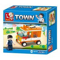 Sluban B0179 Town Mini autobus 72 dílků