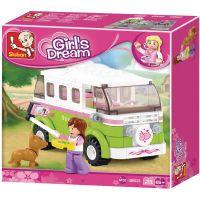 Sluban B0523 obytný mini bus Camper Van 158 dílků