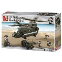 Sluban B6600 Army Přepravní vrtulník 370 dílků