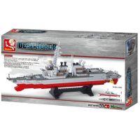 Sluban B0390 Aircraft Carrier Torpédoborec 615 dílků