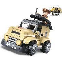 EPLINE Vojenské hlídkové vozidlo 102 dílků 2