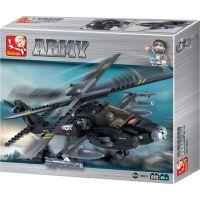 Sluban B0511 Army vrtuľník AH-64 Apache