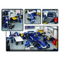 Sluban B0356 Formula 1 Garáž s formulí 741 dílků 4