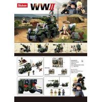 Sluban WWII 4v1 Stavebnicový set 5