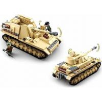 Sluban WWII Tank Panzer IV. 2v1 2