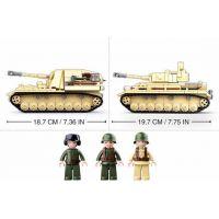 Sluban WWII Tank Panzer IV. 2v1 3