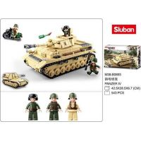 Sluban WWII Tank Panzer IV. 2v1 5