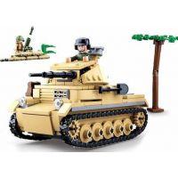 Sluban WWII Tank Panzzer II.