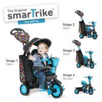 Smart Trike Trojkolka 4 v 1 Boutique modrá 2