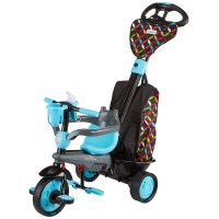Smart Trike Trojkolka 4 v 1 Boutique modrá 6