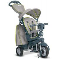 Smart Trike Trojkolka 5 v 1 Explorer Style šedá