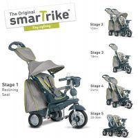 Smart Trike Trojkolka 5 v 1 Explorer Style šedá 2