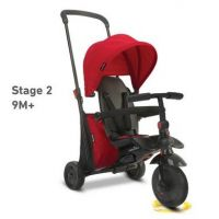Smart Trike Trojkolka 7v1 400 červená TouchSteering 3