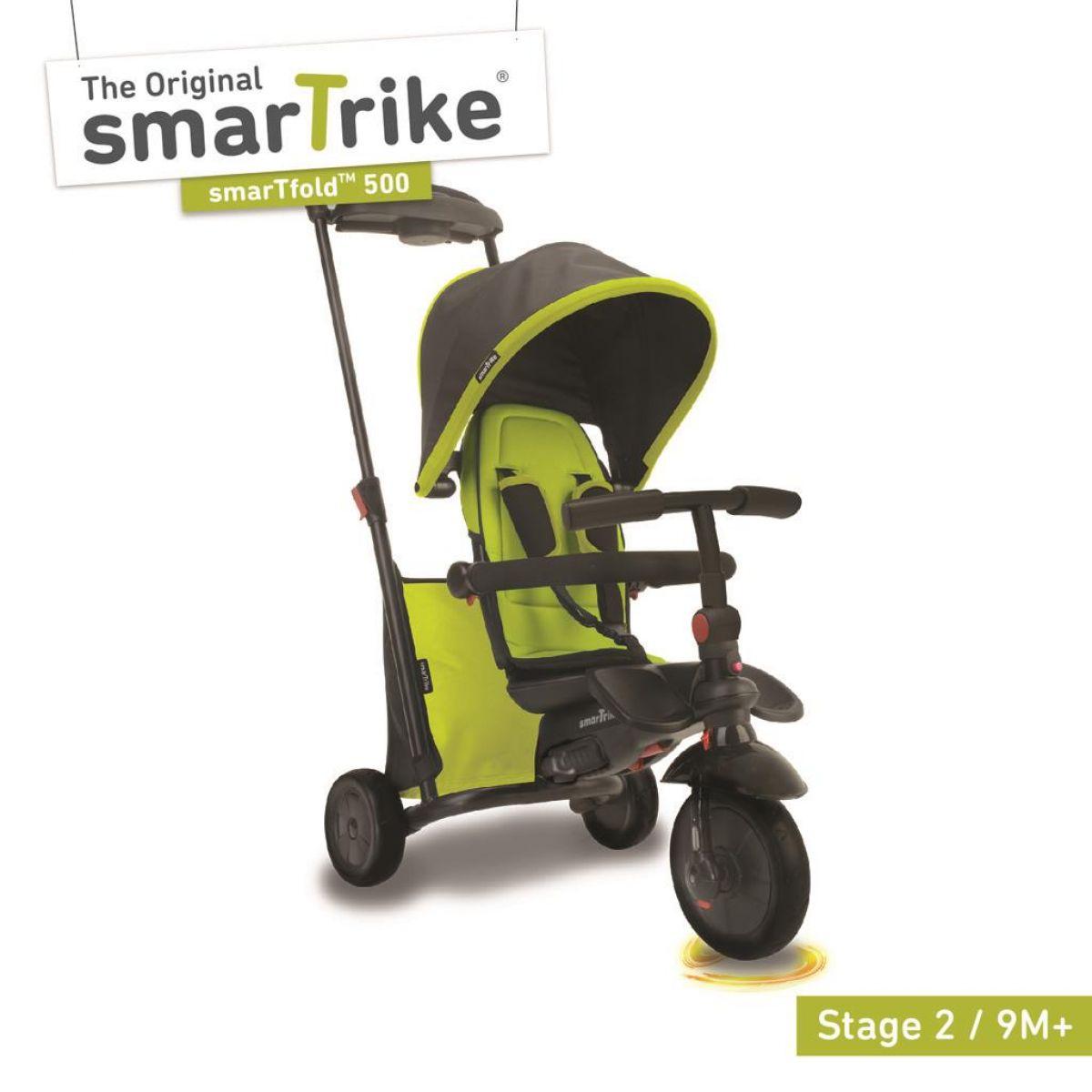 Smart Trike Trojkolka 7 v 1 Smartfold 500 zelená - Poškodený obal